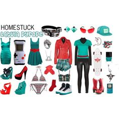 669df6b0832b Latula Pyrope outfit polyvore Casual Cosplay