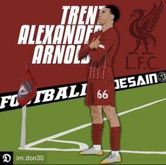 Ynwa Liverpool, Liverpool Soccer, Alexander Arnold, Cute Guys, Champion, Football, Illustration, Sports, Soccer