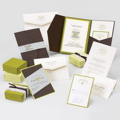 Jillian & Quintin Wedding Invitation - love the wood bark cover stock this is made out of! We can customize any Envelopments template for you in your choice of colors at Indigo Envelope. #rusticweddings #chicweddings #indigoenvelope