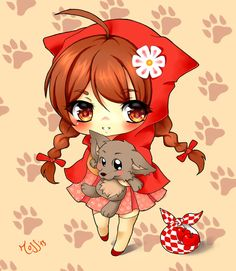 Chibi Little Red Riding Hood by Ross-romina-86 on deviantART