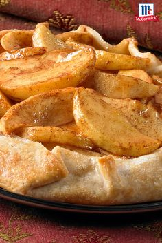 This twist on the classic apple pie recipe is super easy because it starts with a refrigerated pie crust. It's the perfect Thanksgiving dessert for this year's feast.