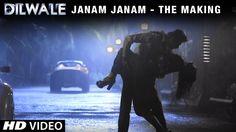 Dilwale   Making of Janam Janam   Kajol, Shah Rukh Khan   A Rohit Shetty...