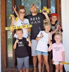 """T- minus 1 day until this crazy bunch is swinging hammers demolishing a fireplace installing new cabinets painting decorating and giving one SWEET family a COMPLETELY NEW downstairs...ALL in just 7 DAYS!!!!!! We are SO excited to be focusing more locally and if your are in the Fort Collins area Saturday December 16th... swing on by to say """"HI""""!!! Meet all the the local contractors who worked on the project see our work first hand and receive discounts on YOUR next project…"""
