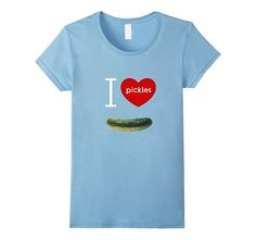 Amazon.com: I Love Pickles, I Heart Pickles, Pickle Lover's T Shirt,: Clothing