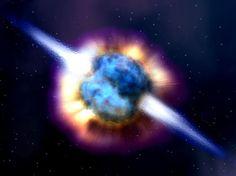 Lasestrellaspara brillar transforman elhidrógeno en helio. Cuando hacia la mitad de su vida (varios millones de años) una estrella se queda sin hidrógeno, el núcleo se convierte enteramente en helio y la estrella declina: se vuelve más fría y brillante ymuere.    Después pueden suceder varias cosas, dependiendo de su masa. Si la estrella es muy grande puede utilizar otro combustible distinto del hidrógeno. Si no, comenzará a enfriarse.