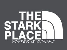 The Stark Place / Game of Thrones inspired t-shirt on Etsy, $15.99