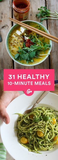 In the time it takes to watch your favorite cat videos on YouTube, you can make a nutritious... #quick #healthy #recipes http://greatist.com/eat/10-minute-recipes