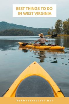 West Virginia is known for its outdoor activities such as whitewater rafting, off-road ATV trails, rock climbing, caving, mountain biking, and loads more. Whether you want to fly in or plan a road trip to West Virginia, here are my tips for a quick West Virginia weekend getaway including the best things to do in West Virginia and the where to stay in West Virginia. | west virginia weekend trip | weekend getaway ideas west virginia | girls weekend west virginia Weekend Trips, Weekend Getaways, Whitewater Rafting, Rock Climbing, West Virginia, Outdoor Activities, Mountain Biking, Stonewall Resort, Summersville Lake