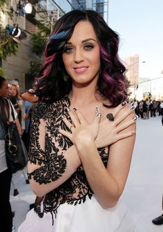 Katy Perry Nail Art - Katy Perry Nails - StyleBistro