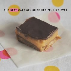I have many goals in my life, but one of them is to find the best caramel slice in the world. It's been a hard adventure so far. There have been many tooth-aching moments, when the caramel is too sweet, and many disappointing moments when the chocolate or base is too thick {there's an art... Read More