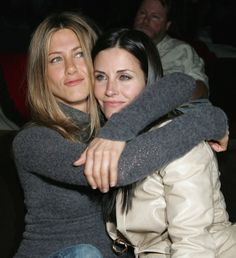 "And so is the love. | 27 Photos Of The ""Friends"" Cast Being Friends In Real Life. And so is the love."