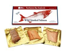 Need a unique and much appreciated birthday gift? Our wild Alaska smoked salmon is siimply delish! 3 varieties of wild caught tasty smoked fish. No refrigeration needed until opened. Smoked Salmon Recipes, Smoked Salmon Dip, Smoked Fish, Sockeye Salmon, Alaska Salmon, Breakfast Items, Seafood, Gourmet Recipes, Healthy Snacks