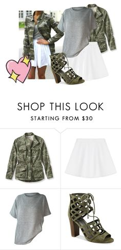 """""""Good Day"""" by lillianfayee ❤ liked on Polyvore featuring L.L.Bean, RED Valentino, G by Guess and Big Bud Press"""
