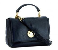 !!!Kurzgrifftasche Coccinelle Liya Mini dunkelblau Top Handle Mini, Handle, Top, Bags, Fashion, Ladybug, Small Leather Bag, Dark Blue, Sachets