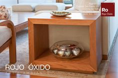 Mesa Lateral Cuadro  -muebles de interior /indoor furniture  -Diseño Rojo Óxido  www.rojooxido.mx Nightstand, Table, Furniture, Home Decor, Filing Cabinets, Mesas, Picture Wall, Interiors, Blue Prints