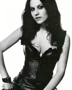 Christina Scabbia of Lacuna Coil. Saw her live a few years back. <3