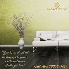 """""""Your Home should tell  the story of who you are  and be a collection  of what you love."""" #interiordesign #interior"""