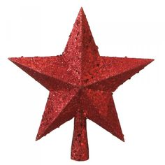 Sometimes shiny red things make me smile... I don't know why - maybe this Tree Topper reminds me of Dorothy's slippers?