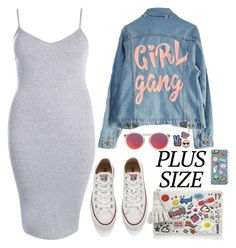 """""""Pines"""" by stephani-dlz ❤ liked on Polyvore featuring Boohoo, High Heels Suicide, Converse, Le Specs and Anya Hindmarch"""