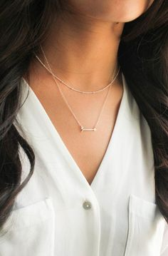 Layering Necklace Layered necklace Arrow