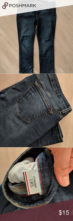Tommy Hilfiger Jeans 18S Gently used. Super comfortable. Size is 18S. Tommy Hilfiger Jeans Straight Leg