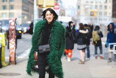 Get An Advanced Lesson In Street Style During NYFW #refinery29  http://www.refinery29.com/2016/02/103173/ny-fashion-week-fall-winter-2016-street-style-pictures#slide-27  Muppet fans, rejoice!...