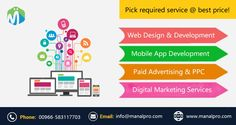 Need a website? Or want to create online presence for your business. Digital Marketing Services, Design Development, Mobile App, Web Design, Advertising, Saudi Arabia, Website, Create, Business