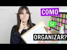 Como se Tornar uma Pessoa Organizada? Decoração de parede + Dicas! Marina Inspira - YouTube