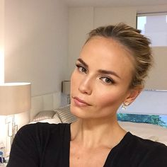 Natasha Poly   Makeup + Earrings