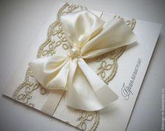 Свадебные приглашения ручной работы - свадебные аксессуары / Handmade wedding invitations