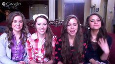 Growing Up Duggar with the Duggar sisters! Jana, Jill, Jessa, and Jinger. (video interview)