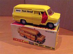 407 Ford 'HERTZ' Transit Van