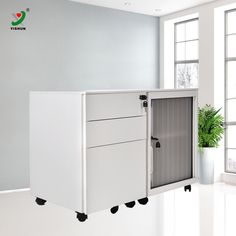 Check out this product on Alibaba.com App:living room furniture tambour filing cabinet mobile pedestal https://m.alibaba.com/22YN3y