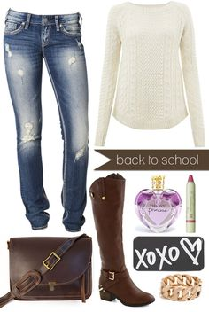 Back to School {Window} Shopping // The Perfect, Comfy-Cozy Back to School Outfit {via My. Daily. Randomness.} #BackToSchool
