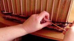 pletení z papíru - YouTube