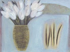 White Tulips with Black Beans, (2010)