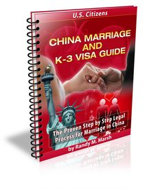 China Marriage and K-3 Visa Guide
