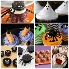 25 Spooky and Simple Halloween Cupcakes