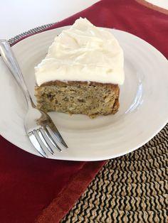 Old Fashioned Banana Cake — Fabulesley Sweets Recipes, No Bake Desserts, Banana Cakes, Sour Cream, Brown Sugar, Southern, Baking, Food, Banana Pound Cakes