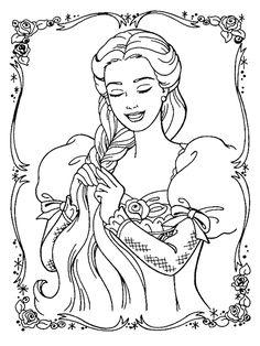 barbie-obrazok-omalovanka.gif (600×800)
