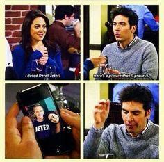 Hahaha.. So Barney!
