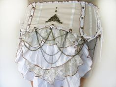 Victorian Bustle Belt  festival clothing by ShaCreations on Etsy