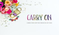 Carry On - Fonts