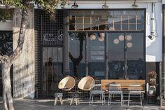Thessaloniki bistro bar Otto e Mezzo marries Mediterranean and contemporary urban aesthetics...