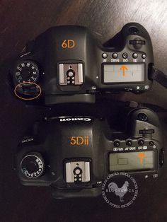 Canon 6D vs 5Dii...... 6D is the winner? read further