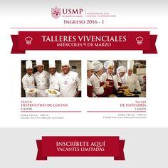 #TalleresIACG | ¿Quieres convertirte en un especialista en gastronomía y pastelería? Nuestro Instituto de Alta Cocina y Gastronomía te invita a participar en sus talleres vivenciales.