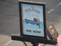 The Dolphin  Free House  Sign. | Flickr - Photo Sharing!