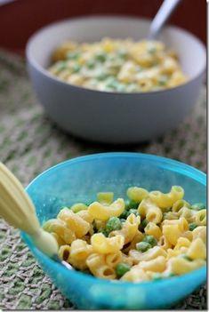 Macaroni & Peas [ SkinnyFoxDetox.com ] #dairyfree #skinny #health