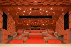 Navius, Fukui, Japan 美浜町生涯学習センター「なびあす」文化ホール Theater chair,Theater seats,Auditorium seats