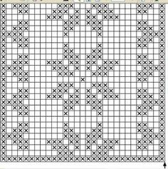 Lace insertion or edging in filet crochet Crochet Diagram, Crochet Chart, Thread Crochet, Crochet Motif, Crochet Doilies, Crochet Stitches, Free Crochet, Crochet Table Runner, Table Runner Pattern